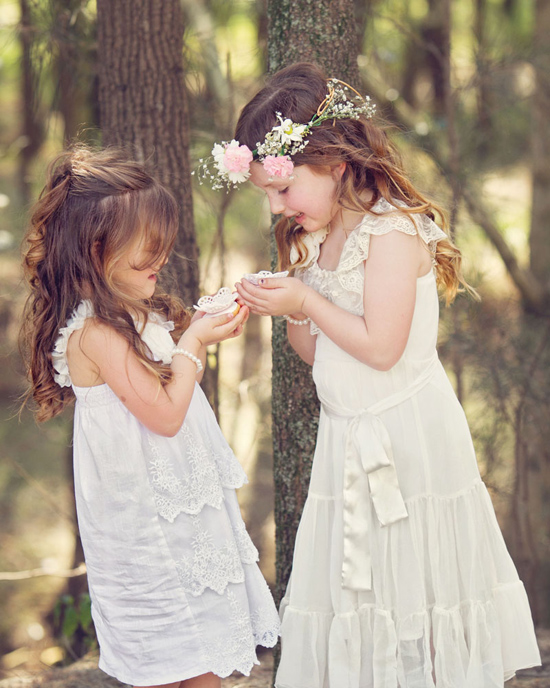 flowergirl ideas08 Teepees & Sweetpeas Flower Girl Inspiration