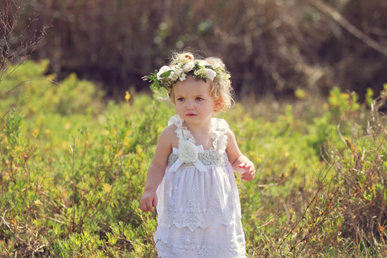 flowergirl ideas18 Teepees & Sweetpeas Flower Girl Inspiration
