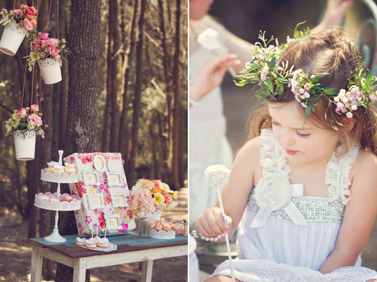flowergirl ideas20 Teepees & Sweetpeas Flower Girl Inspiration