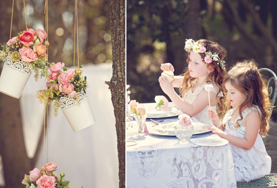 flowergirl ideas21 Teepees & Sweetpeas Flower Girl Inspiration