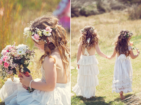 flowergirl ideas22 Teepees & Sweetpeas Flower Girl Inspiration