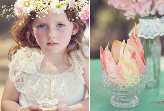 flowergirl ideas25 Teepees & Sweetpeas Flower Girl Inspiration