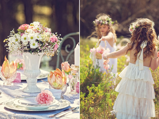 flowergirl ideas26 Teepees & Sweetpeas Flower Girl Inspiration