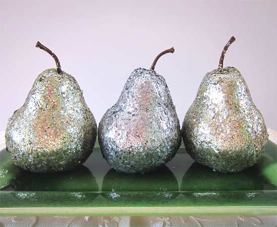 glittered fruit tutorial Glitter Fruit Tutorial