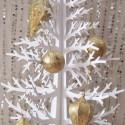 Gold Leaf Ornament Tutorial