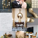 grey and gold wedding inspiration