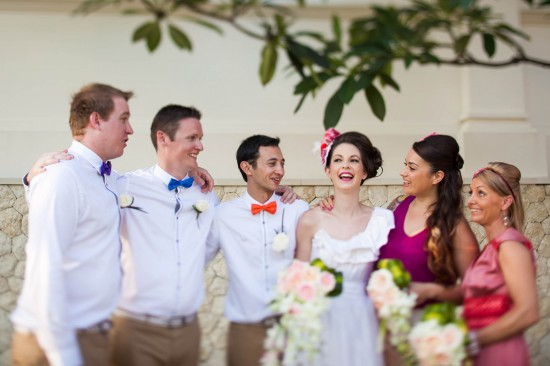 img 5848 550x366 Saskia + Pats Colourful Bali Wedding