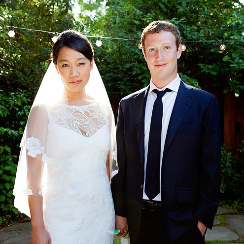 mark zuckerberg 495 The 2012 Celebrity Wedding Countdown