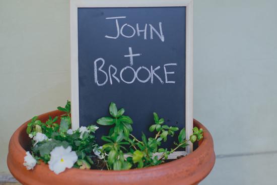 romantic backyard wedding001 Brooke and Johns Romantic Backyard Wedding