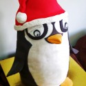 santa penguin single