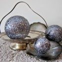 sequin ball decoration tutorial