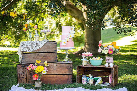 spring wedding inspiration001 Colour Of Love Summer Wedding Inspiration