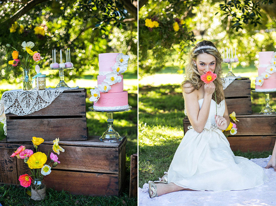 spring wedding inspiration005 Colour Of Love Summer Wedding Inspiration