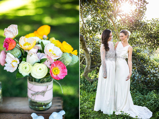 spring wedding inspiration009 Colour Of Love Summer Wedding Inspiration