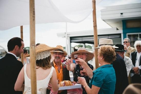 Ukranian wine sharing ceremony