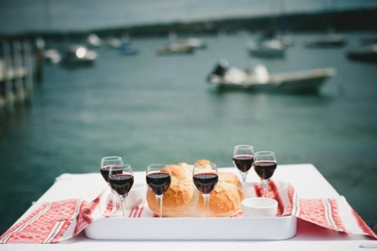 Bread and wine ceremony