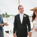 Elizabeth celebranting Tobhiyah and Daniel's cultural fusion wedding