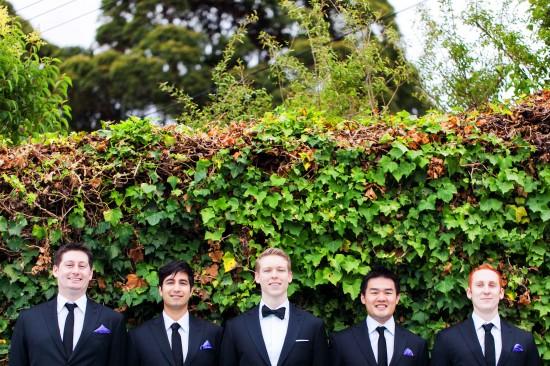 Groomsmen with pocket squares 550x366 Essentials: 6 Ways To Wear A Pocket Square