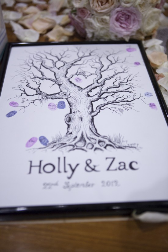 Holly Zac 1832 550x825 Holly and Zacs Elegant Rose Wedding On The River