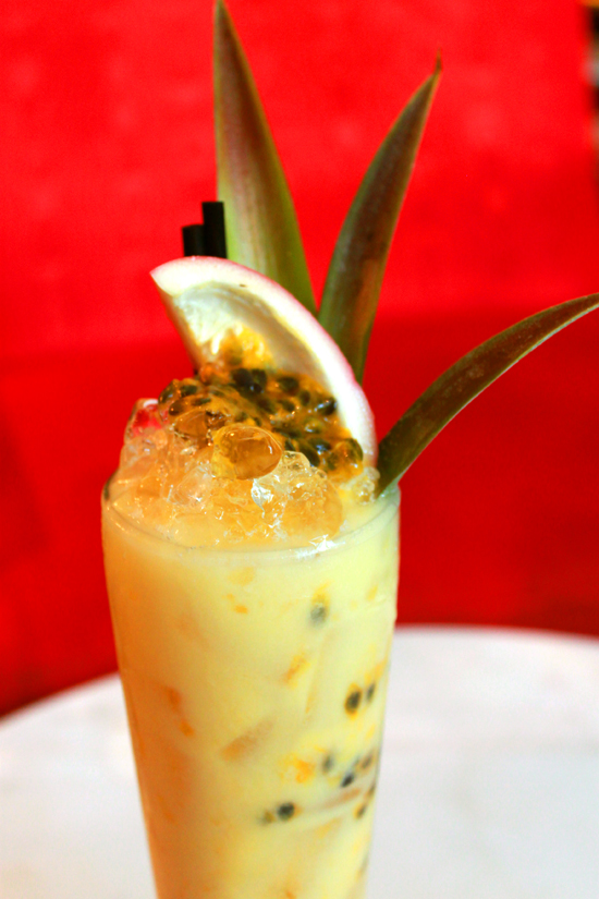 Passionfruit Coloda Cocktail Recipe Cocktail Friday Emporium Hotel Cocktail Bars Passionfruit Colada