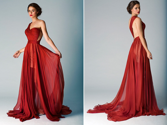 Red Wedding Gown The Babushka Ballerina Spring/Summer 12/13