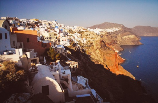Santorini1 550x359 Top Ten Destination Wedding Locations