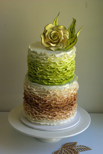 Sugar Blossom Cakes Wedding Cakes Vintage Rustic Fun1041 Sugablossom Cakes Top 10 Cakes for 2012