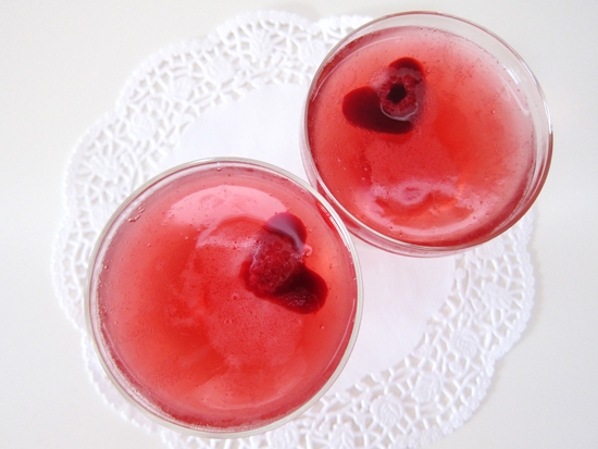 Valentines Day Cocktail