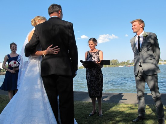 Wedding5Star 113 550x412 Holly and Zacs Elegant Rose Wedding On The River