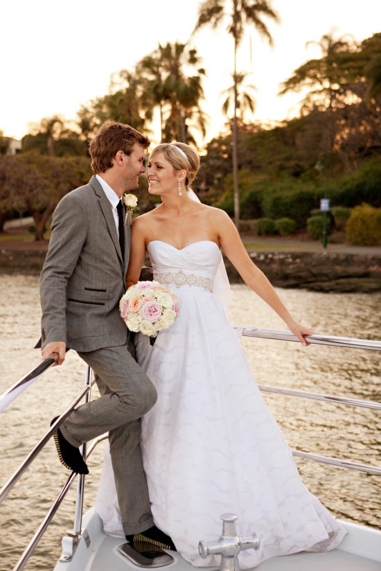 Wedding5Star 384 550x824 Holly and Zacs Elegant Rose Wedding On The River
