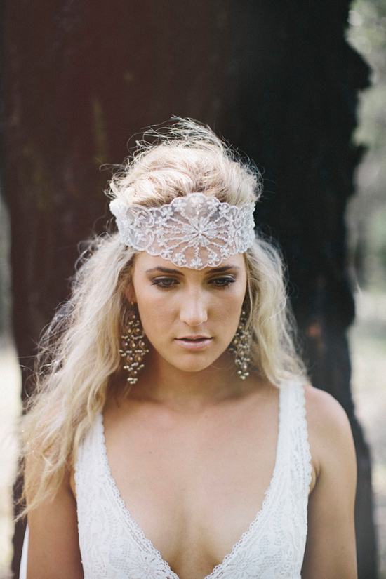boho wedding gowns11 Grace Loves Lace Deep Forest Bridal Inspiration