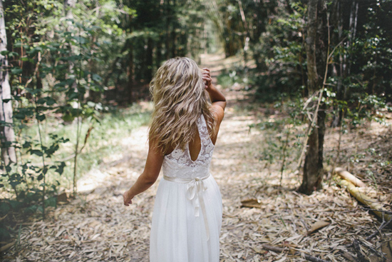 boho wedding gowns15 Grace Loves Lace Deep Forest Bridal Inspiration