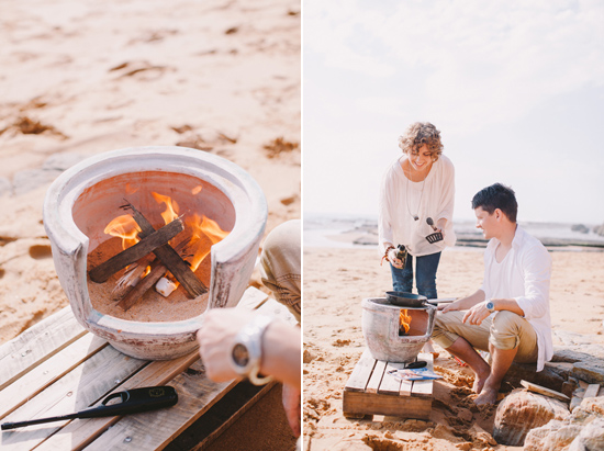 breakfast at the beach engagement 21