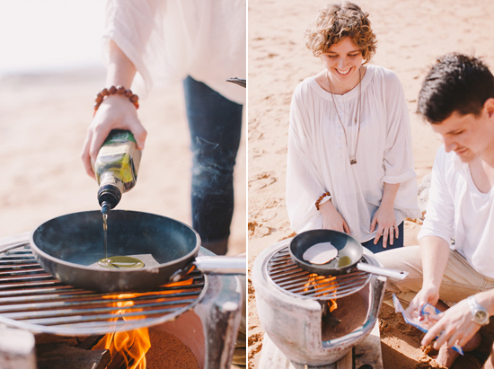 breakfast at the beach engagement 22