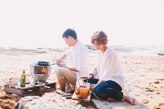 breakfast at the beach engagement 28
