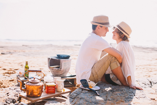 breakfast at the beach engagement 33
