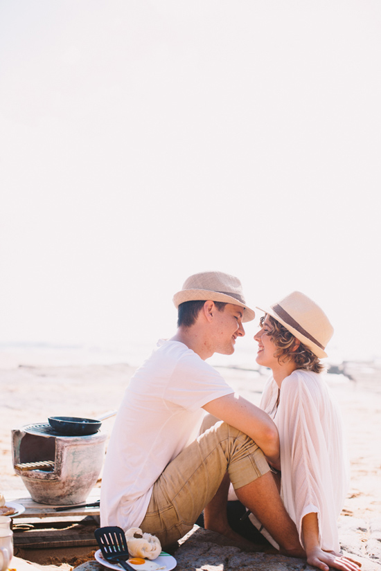 breakfast at the beach engagement 34