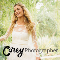 Corey Sleap Photographer Bride Banner
