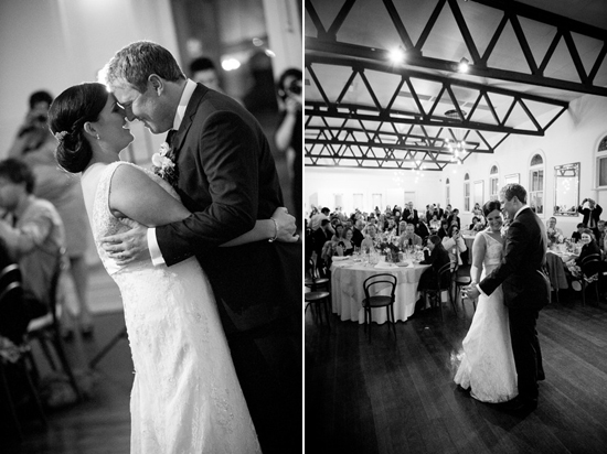 first dance at wedding Lisa & Macca's Vintage Inspired Convent Wedding