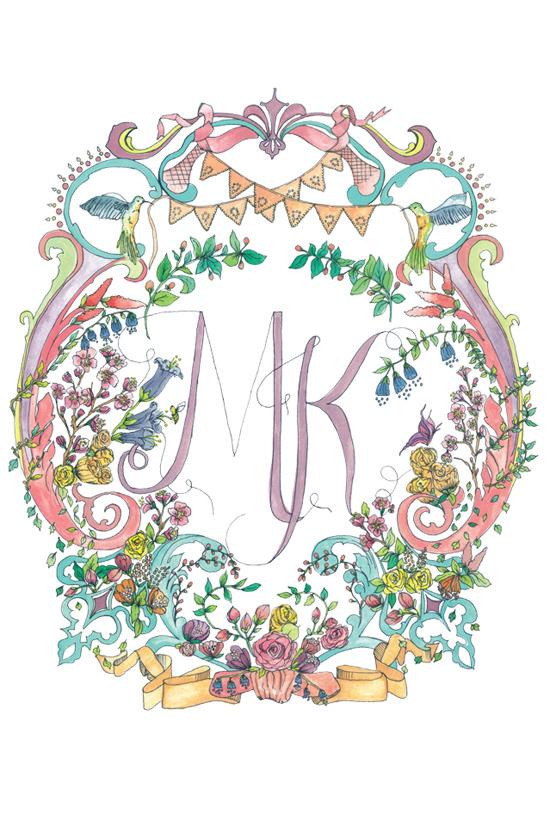 illustrated wedding invitations02 Kathryn Green Illustrated Wedding Invitations
