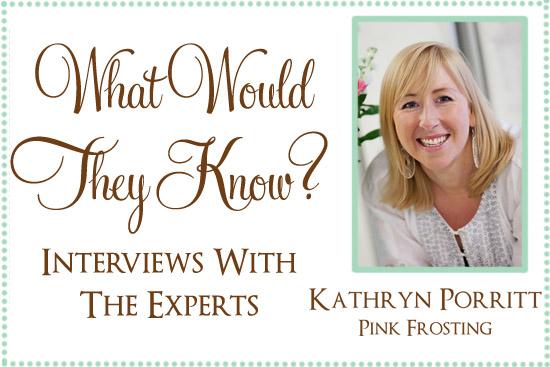 kathryn porritt pink frosting