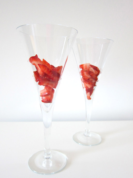 strawverry cocktail
