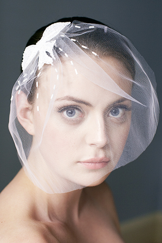 sydney wedding veils062 Kristi Bonnici Bridal Accessories 2013 Bowerbird Collection