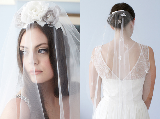 sydney wedding veils131 Kristi Bonnici Bridal Accessories 2013 Bowerbird Collection