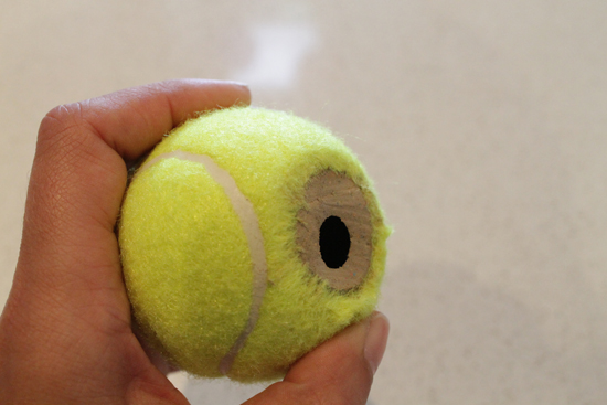 tennis ball placecard holders51 DIY Tennis Ball Placecard Holders Tutorial