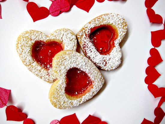 valentines day biscuits 2 Stained Glass Heart Biscuit Tutorial