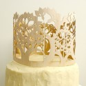 whimsical carved wood cake topper02