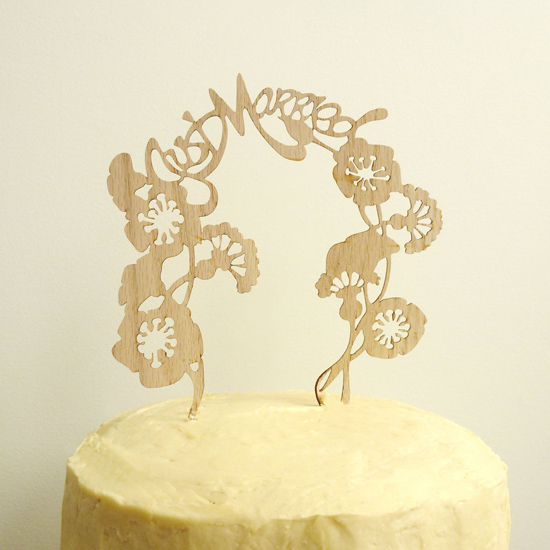whimsical carved wood cake topper04