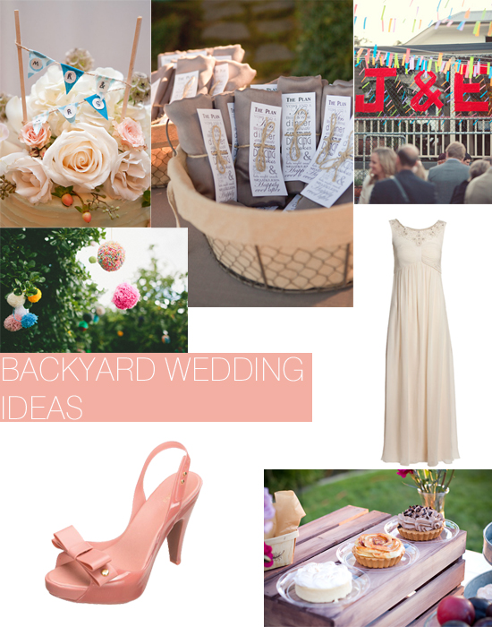 Backyard Wedding Ideas Shoe Crush Sunday Backyard Garden Wedding