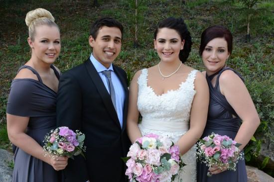 DSC 5340 550x366 Natalie & Jonathons Vintage Twist Dayboro Wedding